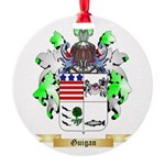 Guigan Round Ornament