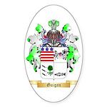 Guigan Sticker (Oval 50 pk)