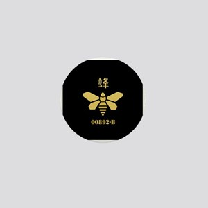 Golden Moth Chemical Mini Button