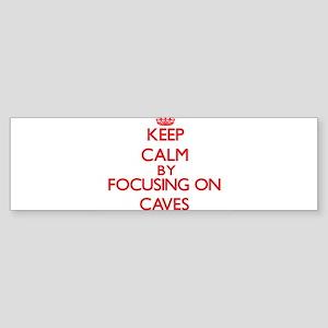 Caves Bumper Sticker