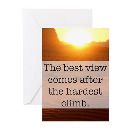 Climb Greeting Cards