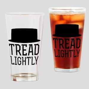Breaking Bad Tread Lightly Drinking Glass