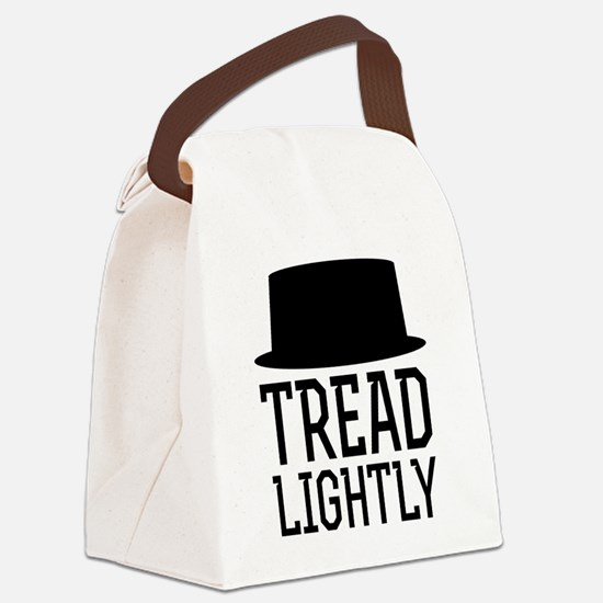 Breaking Bad Tread Lightly Canvas Lunch Bag