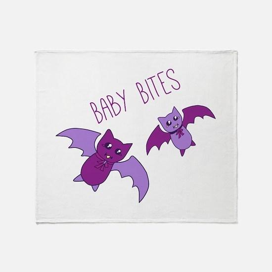 Baby Bites Throw Blanket