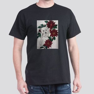 Westie Holiday Delivery Dark T-Shirt