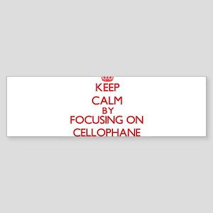 Cellophane Bumper Sticker