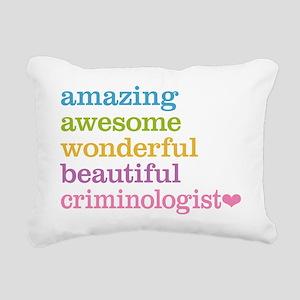 Criminologist Rectangular Canvas Pillow
