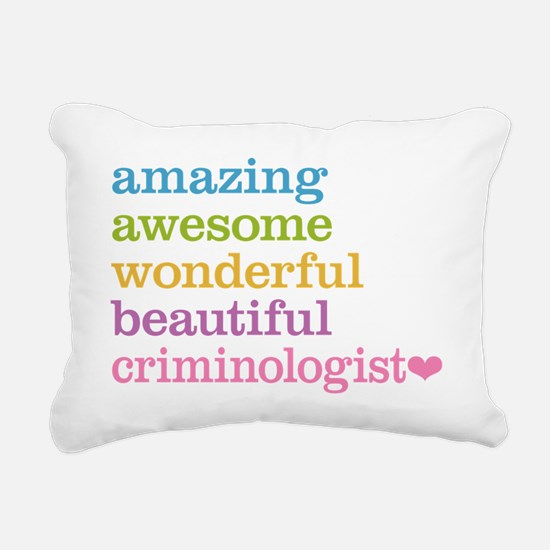 Criminologist Rectangular Canvas Pillow