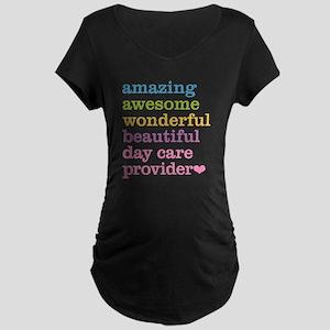 Day Care Provider Maternity Dark T-Shirt