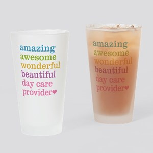 Day Care Provider Drinking Glass
