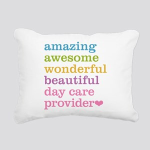 Day Care Provider Rectangular Canvas Pillow