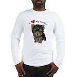 I love my Yorkie long sleeve t-shirt!