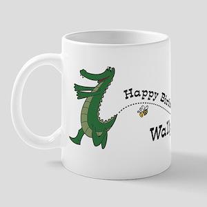 Happy Birthday Wally (gator) Mug
