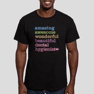 Dental Hygienist Men's Fitted T-Shirt (dark)