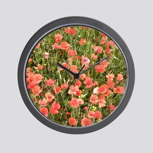 The Crimson Carpet Wall Clock