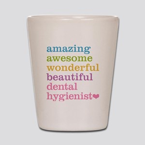 Dental Hygienist Shot Glass
