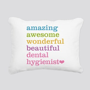 Dental Hygienist Rectangular Canvas Pillow