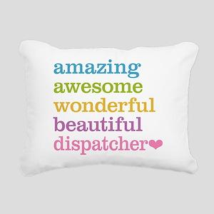 Amazing Dispatcher Rectangular Canvas Pillow