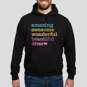 Amazing Diver Hoodie (dark)