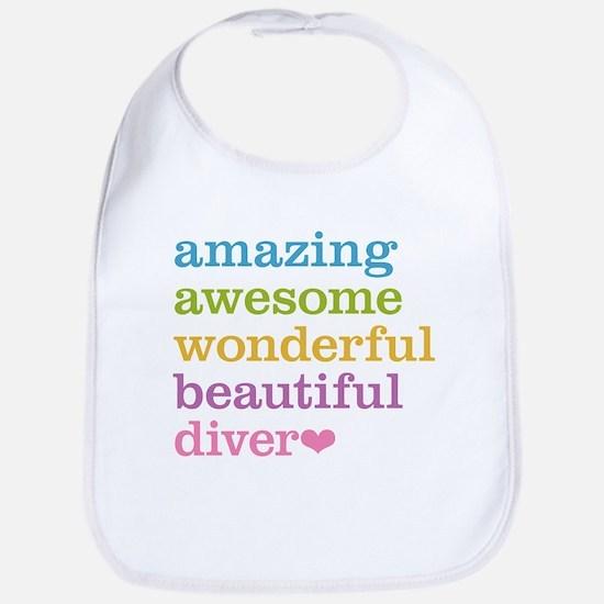 Amazing Diver Bib
