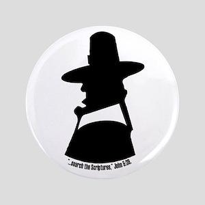 """Puritan Head Reformed Wear 3.5"""" Button"""