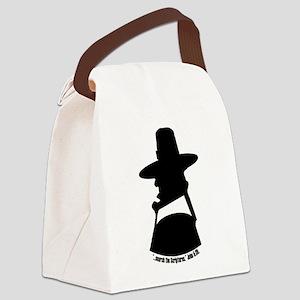 Puritan Head Reformed Wear Canvas Lunch Bag