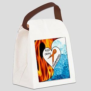 RSD*CRPS Fire & Ice Canvas Lunch Bag