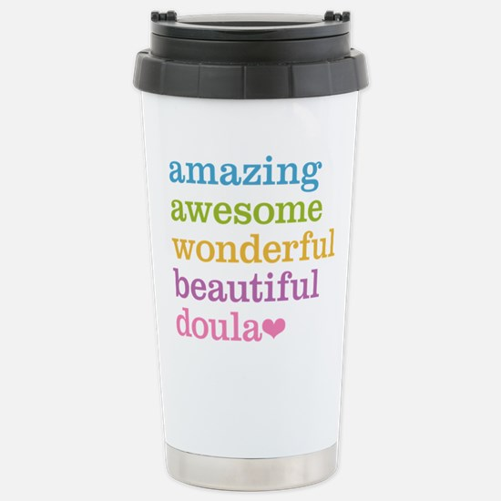 Amazing Doula Stainless Steel Travel Mug