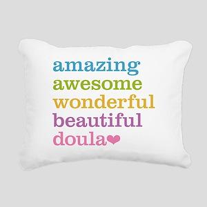 Amazing Doula Rectangular Canvas Pillow