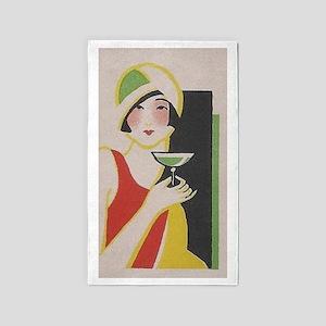 Flapper, Japan,Martini, Vintage Poster 3'x5' Area