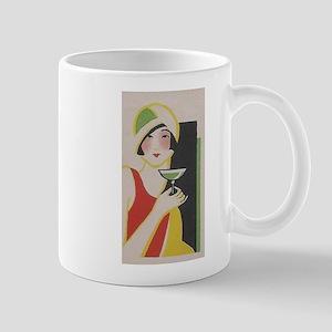 Flapper, Japan,Martini, Vintage Poster Mugs