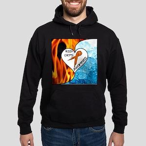 RSD*CRPS Fire & Ice Hoodie (dark)