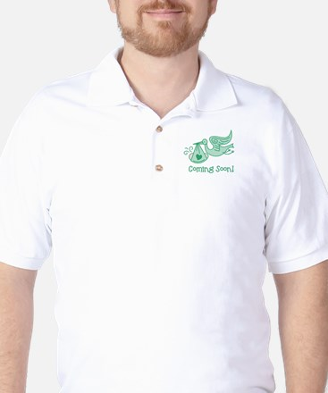 Coming Soon Golf Shirt