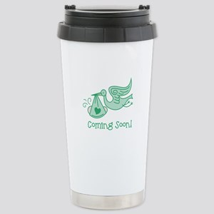 Coming Soon Stainless Steel Travel Mug