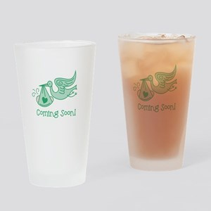 Coming Soon Drinking Glass