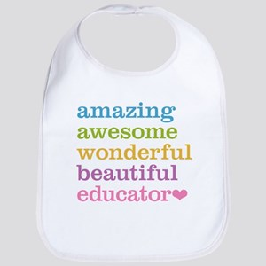 Amazing Educator Bib
