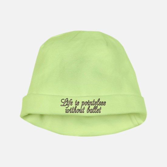 Life is pointeless - baby hat