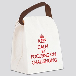 Challenging Canvas Lunch Bag