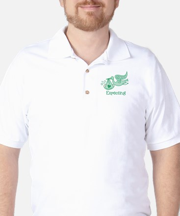 Expecting Golf Shirt