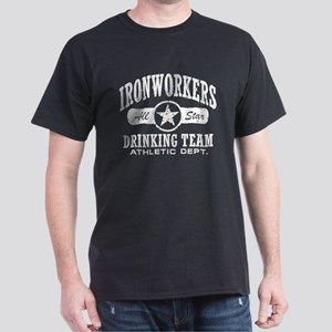 Ironworkers Drinking Team Dark T-Shirt