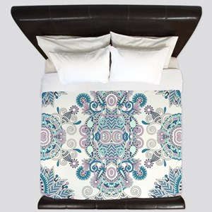 Traditional Pattern King Duvet
