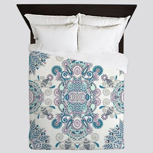 Traditional Pattern Queen Duvet
