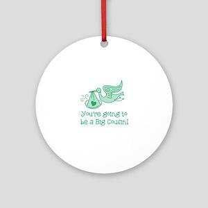 Big Cousin Ornament (Round)