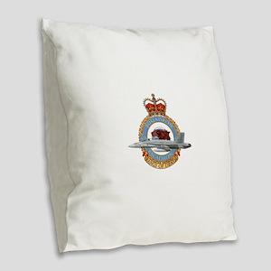 tiger Burlap Throw Pillow