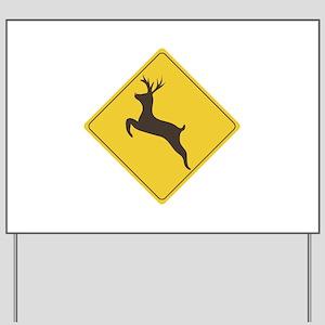 Rudolph Crossing Yard Sign