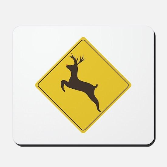 Rudolph Crossing Mousepad