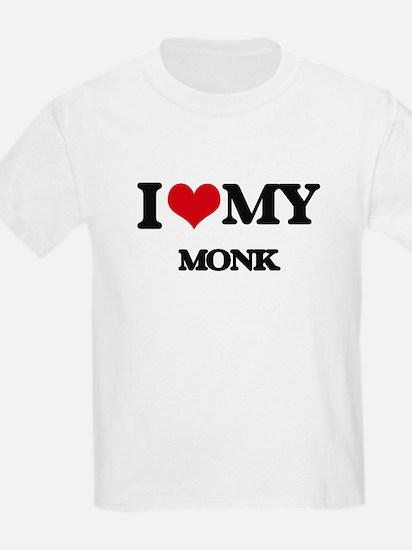 I love my Monk T-Shirt