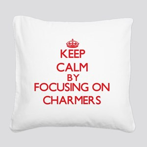 Charmers Square Canvas Pillow