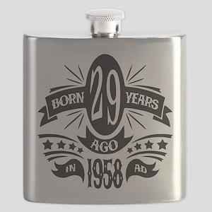 29th Birthday 1958 Flask