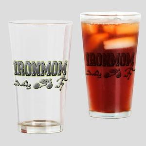 IronMom Ironman Metal Figures Drinking Glass